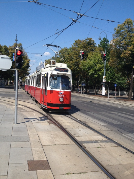 Vienna, old trams